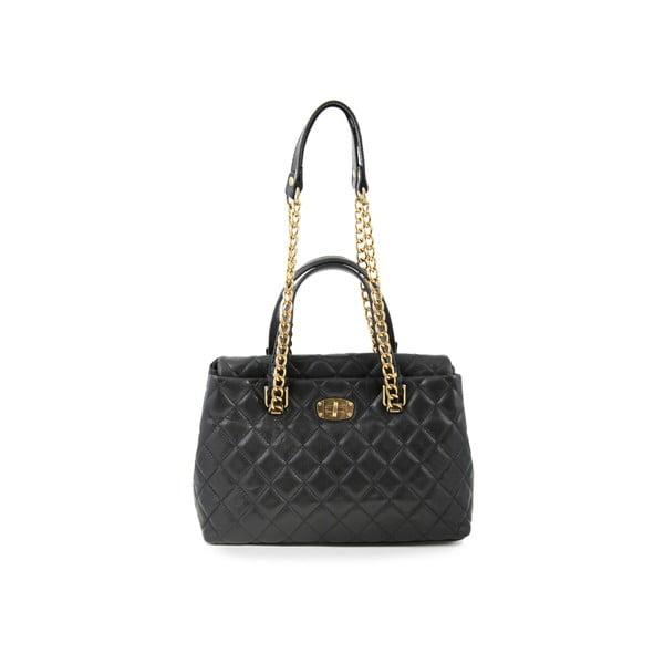 Kožená kabelka Leather Nero
