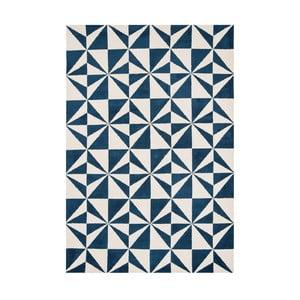Koberec Asiatic Carpets Mosaic Rug Denim, 100x150 cm