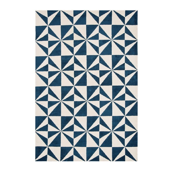 Koberec Asiatic Carpets Mosaic Rug Denim, 100x150 cm