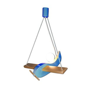 Závesné svietidlo Blue Gliders
