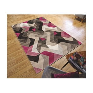 Koberec Flair Rugs Aurora Grey Purple, 80 × 150 cm