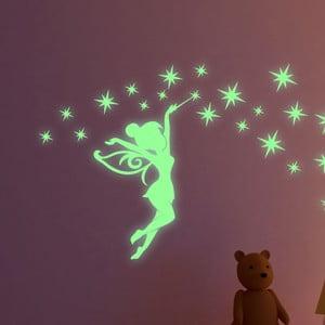 Sada svietiacich samolepiek Ambiance Fairytale