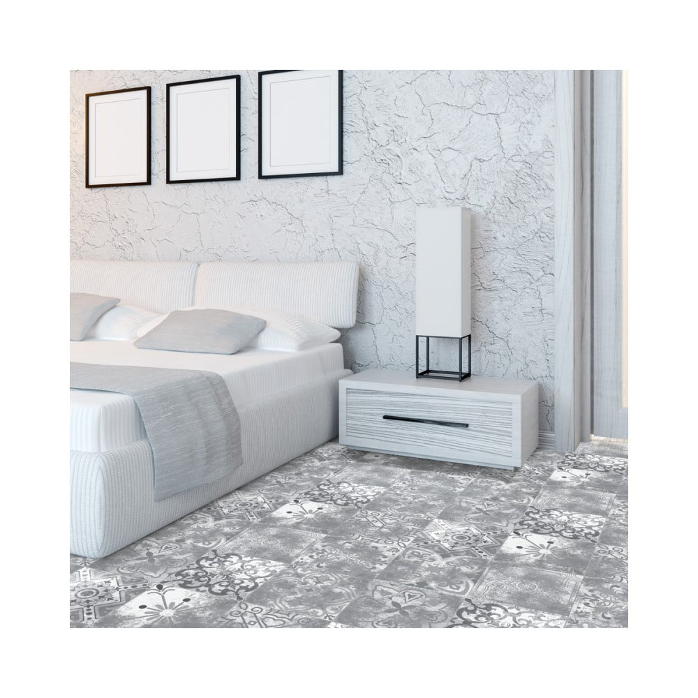 Samolepka na podlahu Ambiance Floor Sticker Aurora, 40 × 40 cm