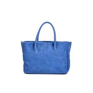 Kožená kabelka Shanna, modrá