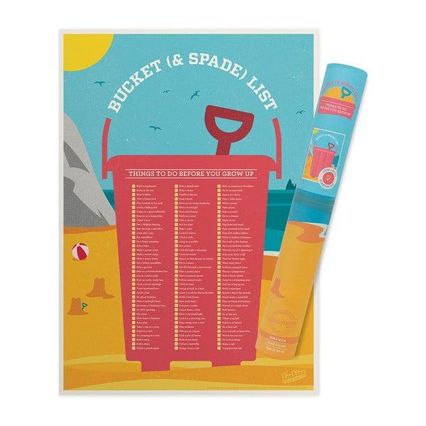 Stierací zoznam cieľov Luckies of London Bucket List