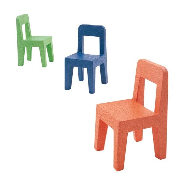 Detská oranžová stolička Magis Seggiolina Pop