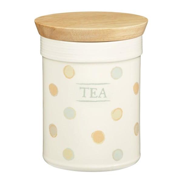 Bodkovaná dóza Tea