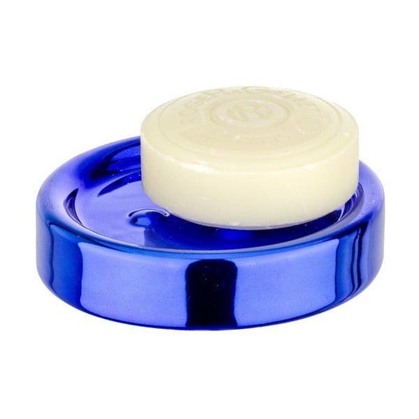 Tacka na mydlo Blue Metallic
