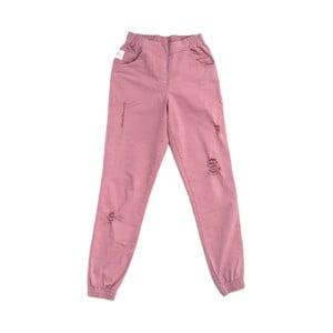 Ružové nohavice Lull Loungewear Glamorous, veľ. L