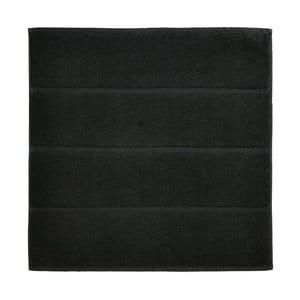 Čierna kúpeľňová predložka Aquanova Adagio, 60 x 60 cm