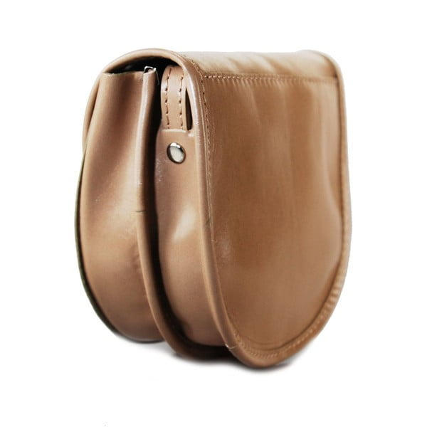 Kožená kabelka Pisa Taupe