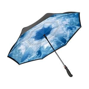 Modrý golfový dáždnik Von Lilienfeld Hamburg Sky FlicFlac