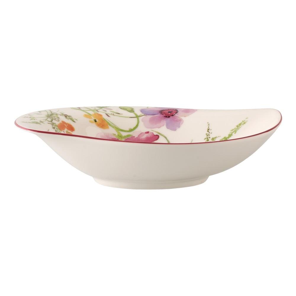 Porcelánová miska s motívom kvetín Villeroy & Boch Mariefleur Serve, 21 x 18 cm