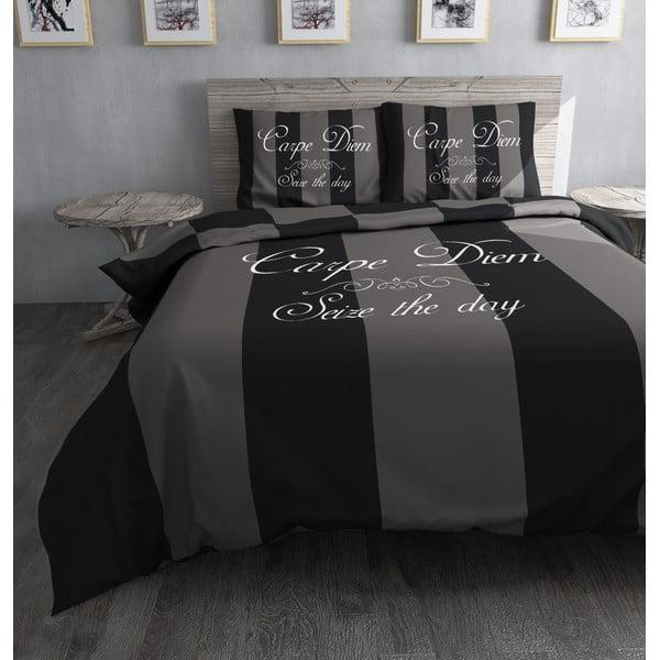 Obliečky Carpe Diem Grey, 200x200 cm