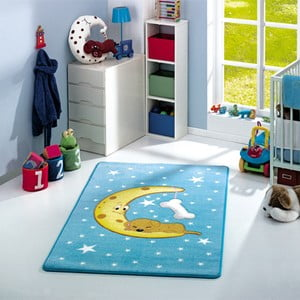 Detský koberec Moon Blue, 133x190 cm