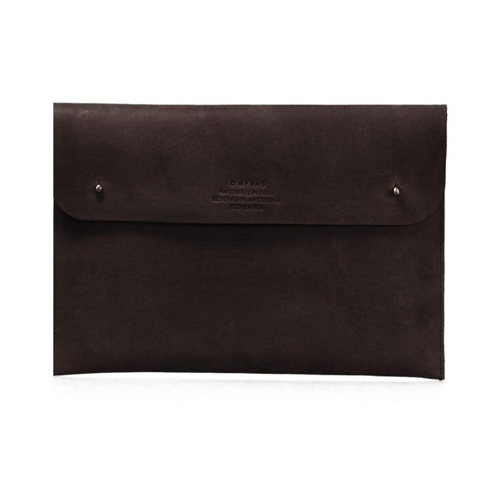5651925ecc Tmavohnedý kožený obal na notebook 12