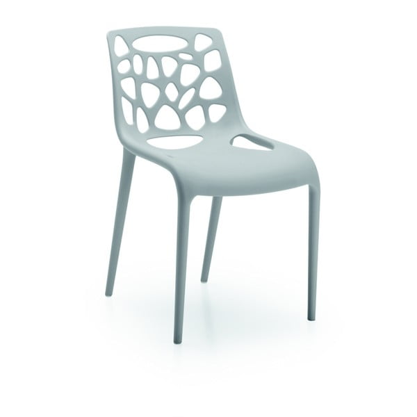 Stolička  Guna, sivá