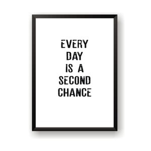 Plagát Nord & Co Second Chance, 21 x 29 cm