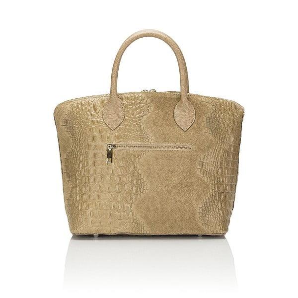 Kožená kabelka Giorgio Costa 15016 Taupe