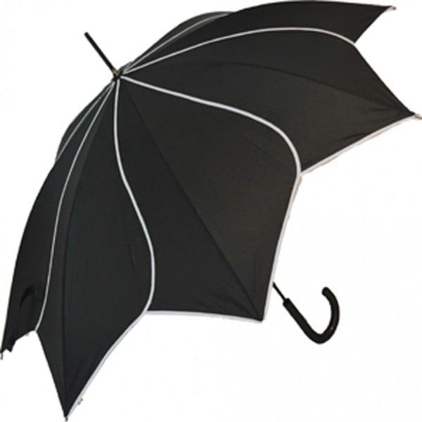 Dáždnik Classic Swirl, black