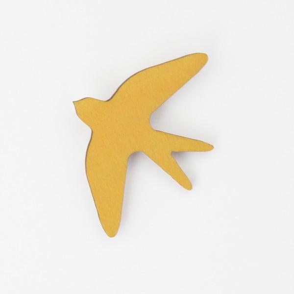 Brošňa SNUG.Bird Mustard