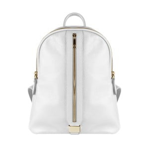 Biely kožený batoh Maison Bag Lisa