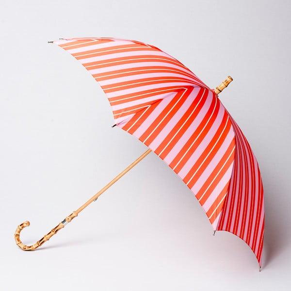 Dáždnik  Alvarez Stripe Orange Pink