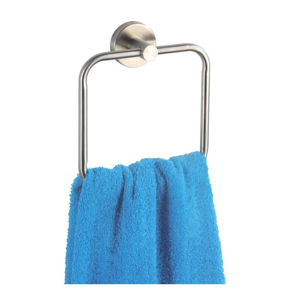 Nástenný držiak na uteráky Wenko Bosio Towel Ring