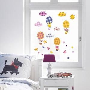 Samolepka na okno Funny Baloons