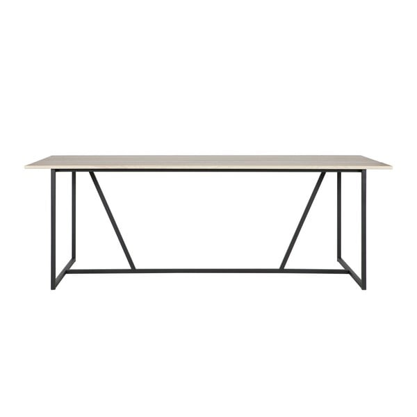 Jedálenský stôl s doskou z jaseňového dreva WOOOD Silas, 90×220cm