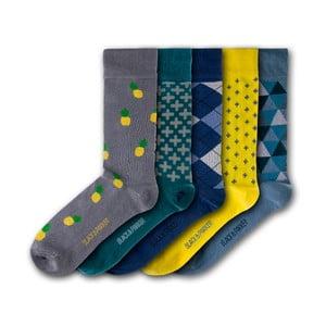 Sada 5 ponožiek Black&Parker London Winsford Walled Garden, veľkosť 37 – 43