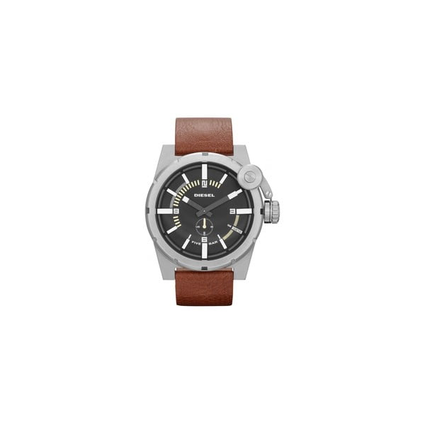 Pánske hodinky Diesel s koženým remienkom Paxton