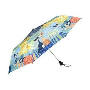 Skladací dáždnik Von Lilienfeld Dolce Vita, ø 90 cm