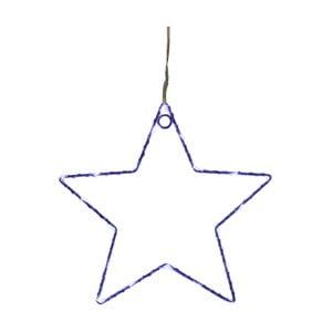 Modrá nástenná svetelná LED dekorácia Opjet Paris Star