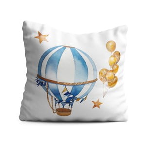 Detský vankúš OYO Kids Air Balloon Adventures, 40 x 40 cm