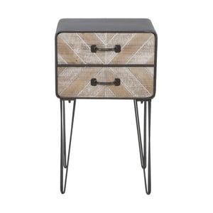 Nočný stolík s 2 zásuvkami Mauro Ferretti Oklahoma