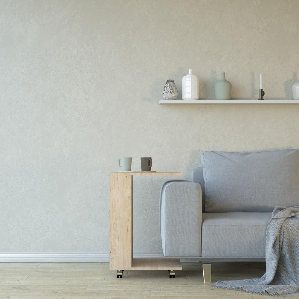 Odkladací stolík Monica, výška 60 cm