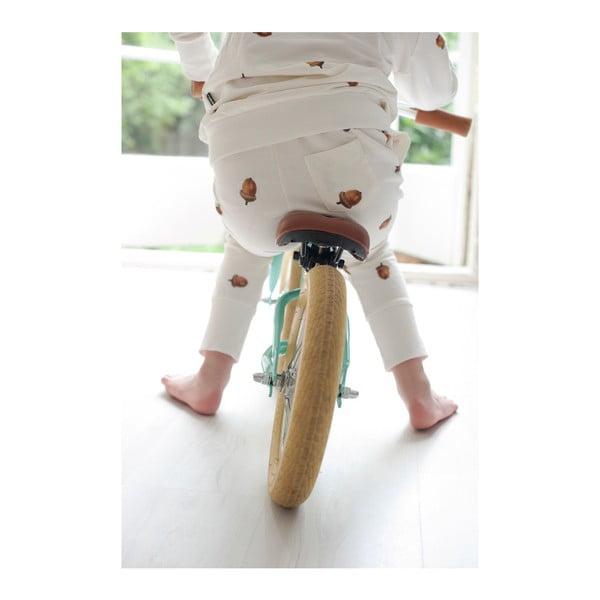 Biele chlapčenské nohavice Snurk Winternuts, 140