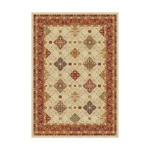 Béžový vzorovaný koberec Universal Nova, 300 x 67 cm