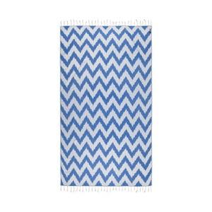 Modrá hammam osuška Kate Louise Laila, 165x100cm