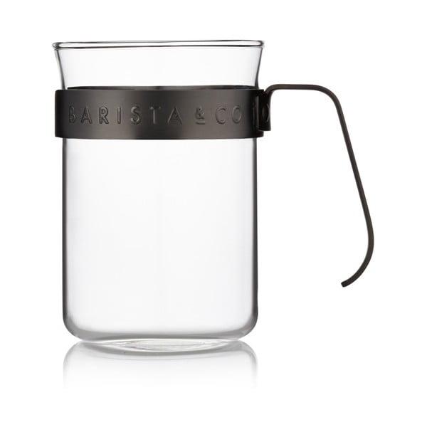 Šálky na kávu Barista 220 ml, čierne, 2 ks