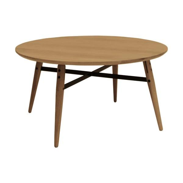 Hnedý konferenčný stolík Canett Exact, veľký