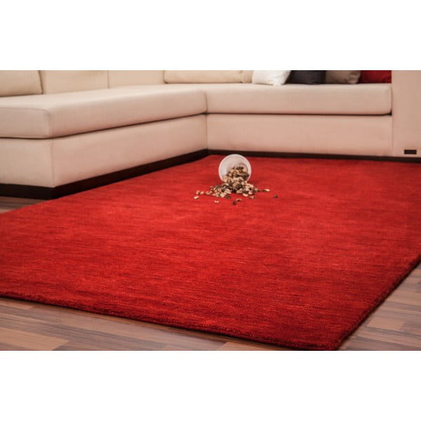 Vlnený koberec Millennium 160x230 cm, červený