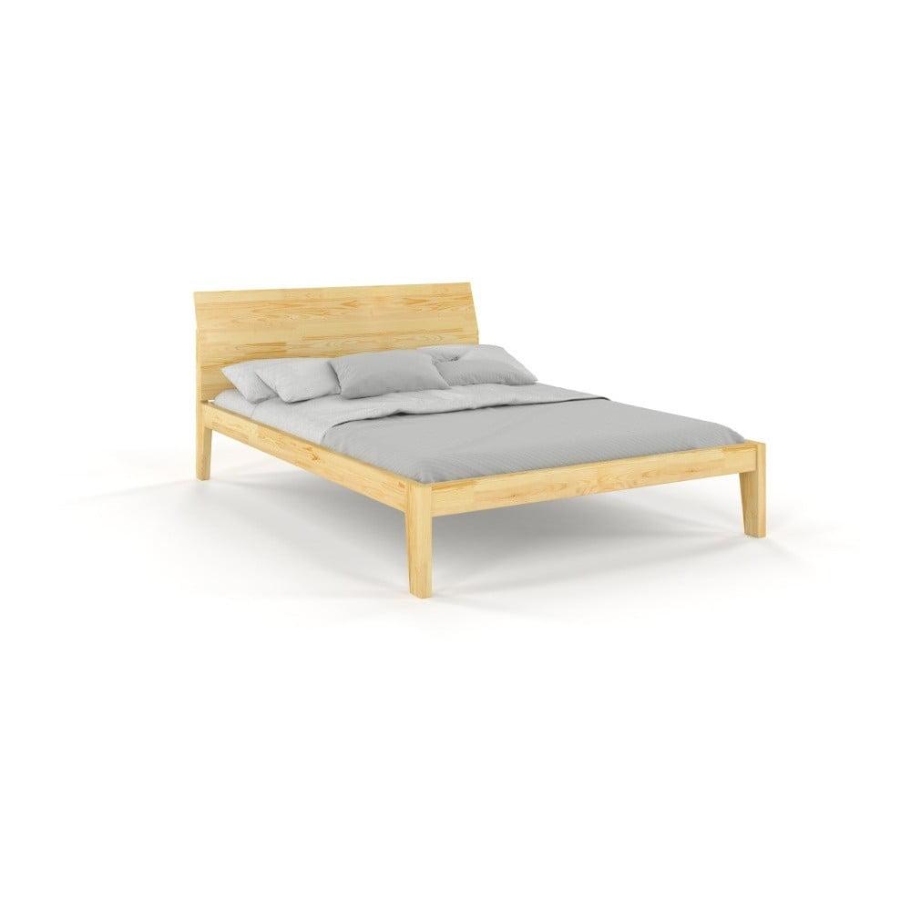 a2de3d2aec593 Dvojlôžková posteľ z masívneho borovicového dreva SKANDICA Agava 160 x 200  cm