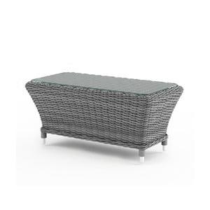 Sivý záhradný stolík Oltre Leonardo