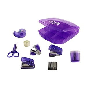 Sada fialových školských potrieb TINC Tonkin Mini