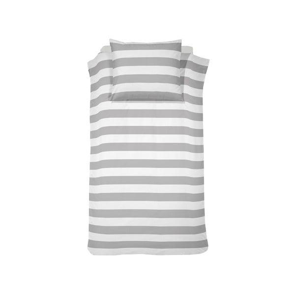 Obliečky Stribe Grey, 140x200 cm