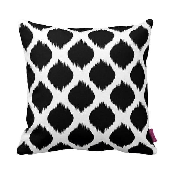 Čierno-biely vankúš Black&White, 43×43cm