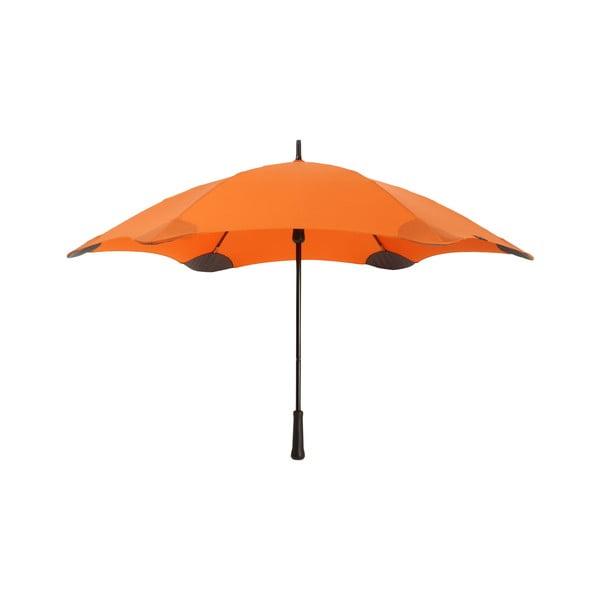Vysoko odolný dáždnik Blunt Classic 120 cm, oranžový