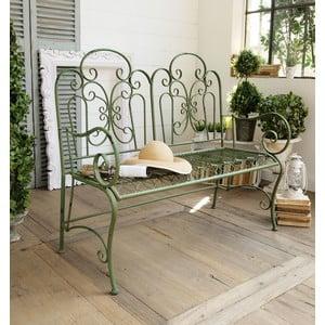 Záhradná lavica Antique Green